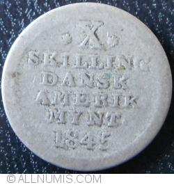Imaginea #1 a 10 Skilling 1845