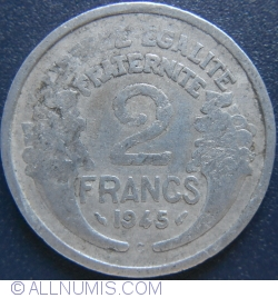 Image #1 of 2 Francs 1945 C