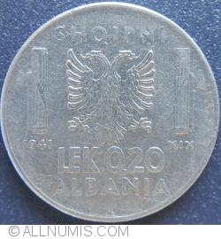 Image #2 of 0,20 Lek 1941