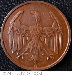 Image #2 of 4 Reichspfennig 1932 G