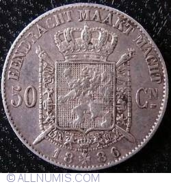 Image #1 of 50 Centimes 1886 (Dutch)