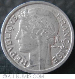 Image #2 of 2 Francs 1946 B