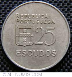 Imaginea #1 a 25 Escudos 1981