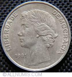 Imaginea #2 a 25 Escudos 1981