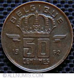 Image #1 of 50 Centimes 1962