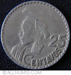 25 Centavos 1966