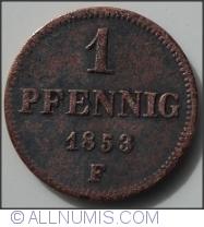 Image #1 of 1 Pfennig 1853 F