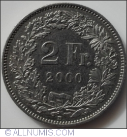 Image #1 of 2 Francs 2000