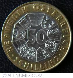 Image #1 of 50 Schilling 1996 - Austrian Millennium - Heinrich I