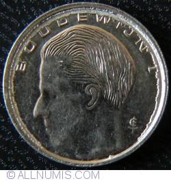 Image #2 of [ERROR] 1 Franc 1990 (Belgie) - Circular defect on reverse