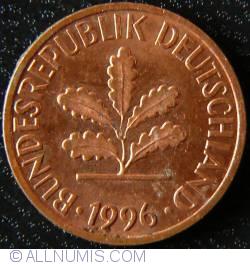 Image #2 of 1 Pfennig 1996 G