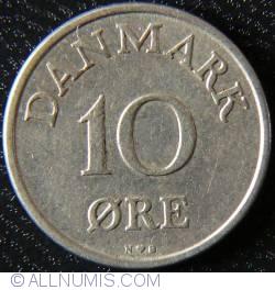 Imaginea #1 a 10 Øre 1954