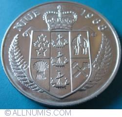 Image #2 of 5 Dollars 1988 - John F. Kennedy
