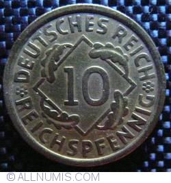 Image #1 of 10 Reichspfennig 1924 A