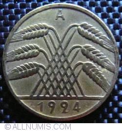 Image #2 of 10 Reichspfennig 1924 A