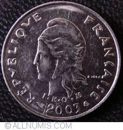 Imaginea #2 a 10 Franci 2003