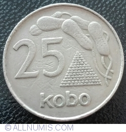 Imaginea #1 a 25 Kobo 1975