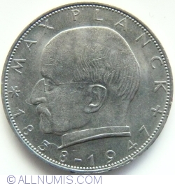 Imaginea #2 a 2 Marci 1967 D - Max Planck