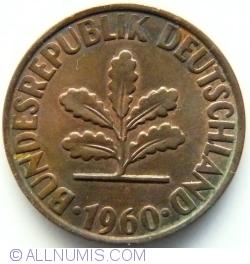 Image #2 of 2 Pfennig 1960 G