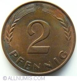 Image #1 of 2 Pfennig 1960 G