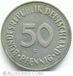 Image #1 of 50 Pfennig 1966 G