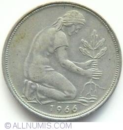 Image #2 of 50 Pfennig 1966 G