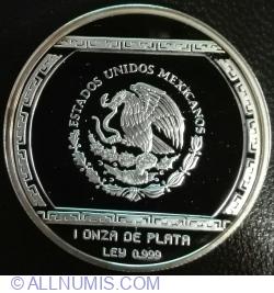 Image #2 of 5 Nuevos Pesos 1993 - Palma Con Cocodrilo