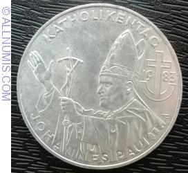 Image #2 of 500 Schilling 1983 - Catholic Day - Pope's Visit