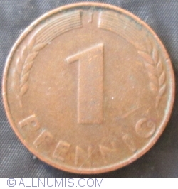 Image #1 of 1 Pfennig 1948 J