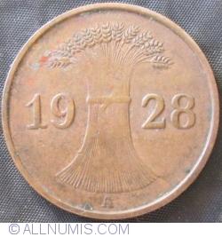 Image #2 of 1 Reichspfennig 1928 A