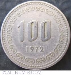 100 Won 1972