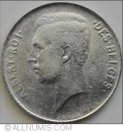 Image #2 of 1 Franc 1913 Belges