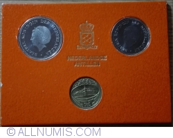 Imaginea #2 a Mint Set MS4 - 1980 (KM# 24 - 25)