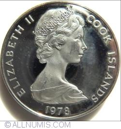 Imaginea #2 a 1 Dolar 1978 - Captain James Cook