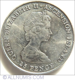 Image #2 of 25 Pence 1981 - Wedding of HRH the Principe of Wels and Lady Diana Spencer