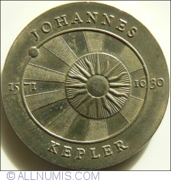 Image #2 of 5 Mark 1971 - Johannes Kepler