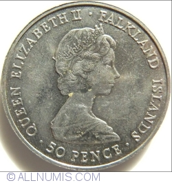 Image #2 of 50 Pence 1981 - The Wedding of the HRH Prince of Wales and Diana Spencer