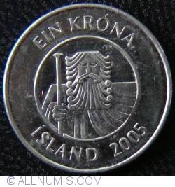 Image #2 of 1 Krona 2005