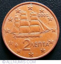 Image #2 of 2 Euro Cent 2002 F