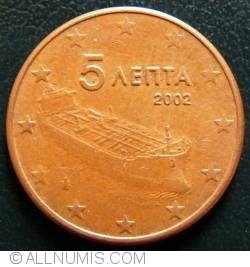5 Euro Cent 2002