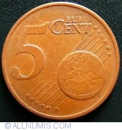 Image #1 of 5 Euro Cent 2002