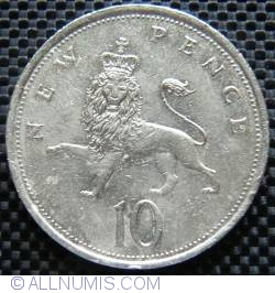 10 New Pence 1981