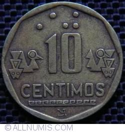 Image #1 of 10 Centimos 1998