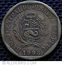 Image #2 of 10 Centimos 1998