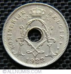 Image #2 of 5 Centimes 1922 Belgie