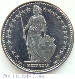 Image #2 of 1/2 Franc 2013