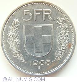 Image #1 of 5 Francs 1966