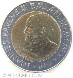 Image #2 of 500 Lire 1987 (IX)