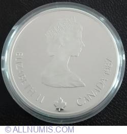 Image #2 of 20 Dollars 1987 - Ski Jump