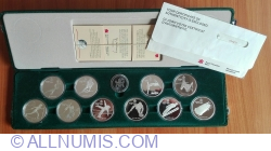 Image #1 of Mint Set  - Olympic Games - Calgary 1988
